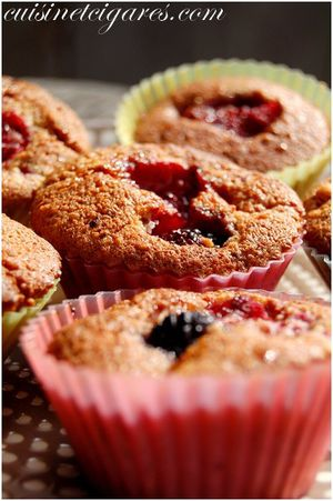 Tendres Muffins Fruits Rouges Duo 10