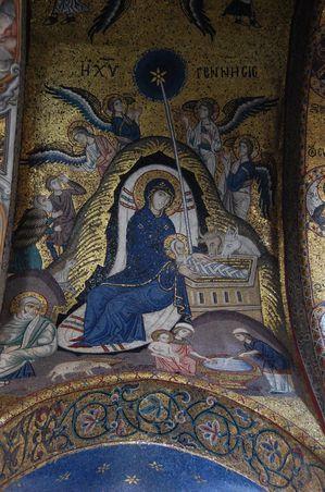 Sicile Palerme La martorana Santa maria dell'Ammiraglio (7