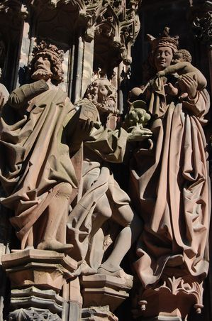 Strasbourg cathedrale sculptures (13)