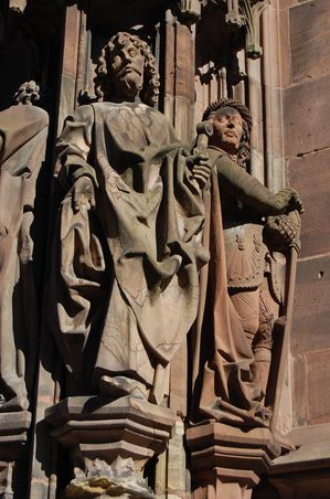 Strasbourg cathedrale sculptures (14)
