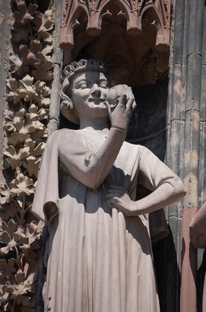 Strasbourg cathedrale sculptures (3)