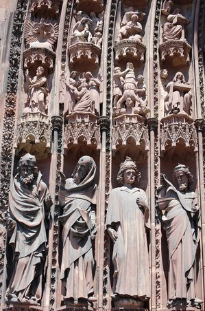 Strasbourg cathedrale sculptures (9)