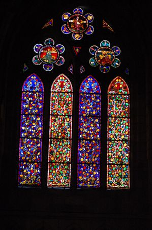Leon cathedrale vitraux (20)