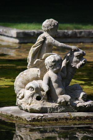 France Paris Parc et chateau de Courances (3)
