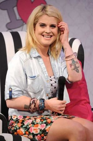 Kelly Osbourne at Madonna's Material Girl launch at Macy's
