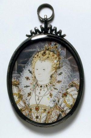 2ii Nicholas Hilliard Elizabeth 1 1595-1600 65x53