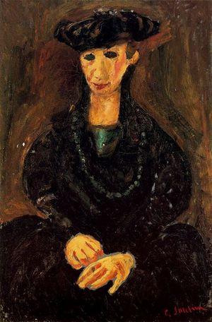 9923 Femme Chapeau Soutine 1927-28 La Vénitienne Arnold A