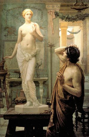 pygmalion and galatea ernest normand 1896