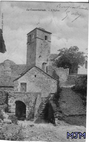 La Couvertoirade Eglise 1905