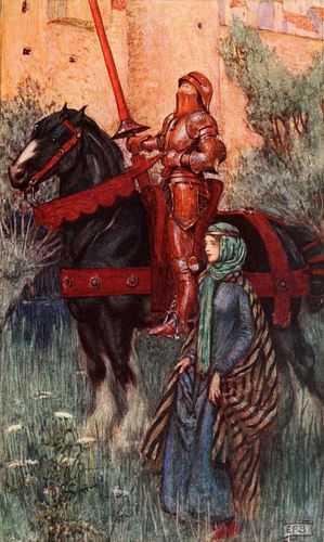 Eleanor Fortescue-Brickdale ~ Idylls of the King by Alfred