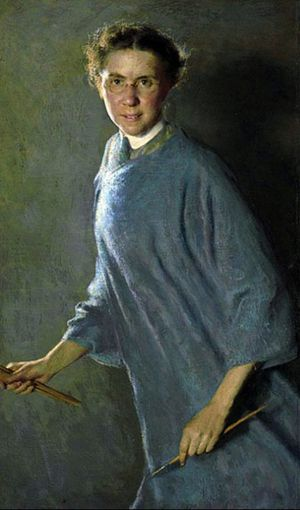 Autoportrait – Margaret Foster Richardson (1881-1945)