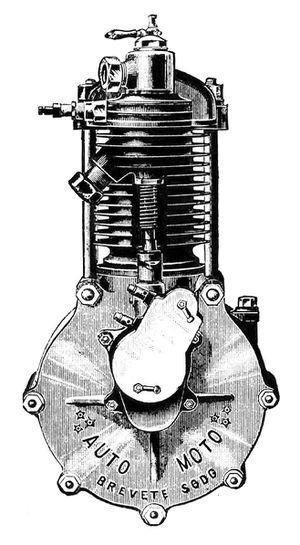 1900 Automoto moteur Gra278