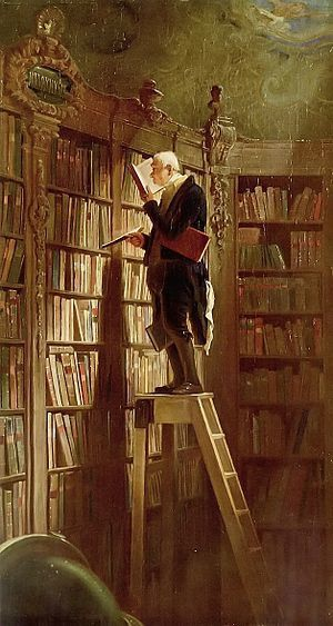 Le rat de biblioth&#xE8;que-Carl Spitzweg 021