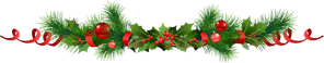 barre-Noel-branches-sapins-houx-boules-rouge.png