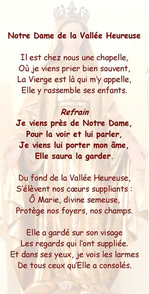 Chant-ND-de-la-Vallee-Heureuse