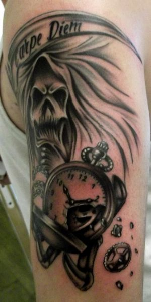 tattoo capraro reaper photo 3
