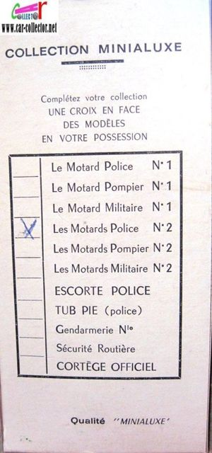 les motards police n°2 minialuxe made in france g-copie-1