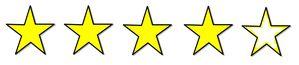 4 étoiles