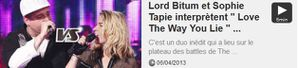 Lord-Bitum-et-Sophie-Tapie-interpretent--Love-The-Way-You-.JPG