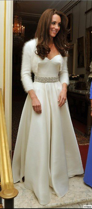seconde robe mariée kate middleton