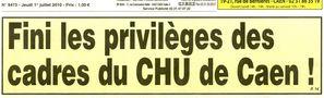 Fini les privilèges.....!