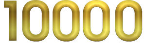 Golden number 10000