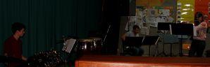 schuelerkonzert 24 Querfloete EGitarre Schlagzeug 1