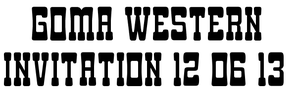2 Goma Western