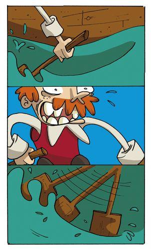 Pirate mange moi -si tu peux VIGN72DPI