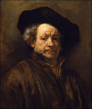 rembrandt self portrait 1660