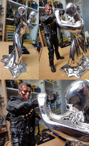 HOT TOYS T-800 TERMINATOR DX 4