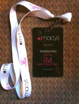 Madonna's Material Girl Dance Party at Macy's: V.I.P. Pass