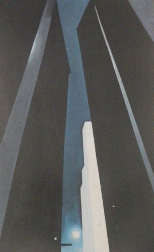 Giorgia O'Keeffe, 1926, City Night