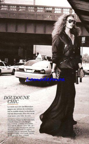 doudoune soir Karl Lagerfeld