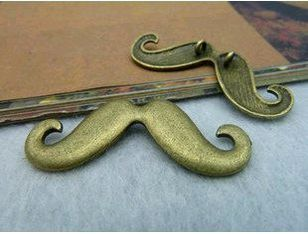 moustaches bronze