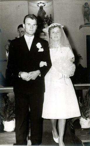 Les jeunes mariés, Jean-Claude et Nicole