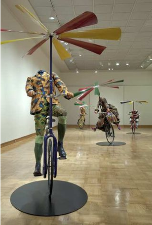 Dysfunctional Family Yinka Shonibare. paintings, yinka shonibare