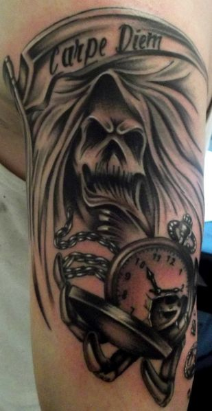tattoo capraro reaper photo 2