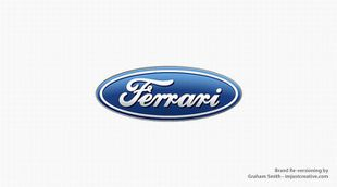 alternative logo marque by graham smith ferrari ford)