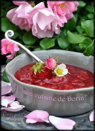 Confiture de fraises et menthe 1a