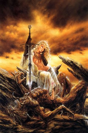 Luis Royo - Immaculate