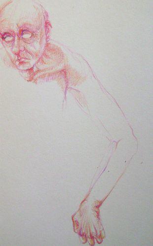 LA BILE NOIRE Crayon de Couleur