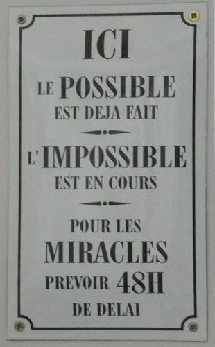 Miracles possibles