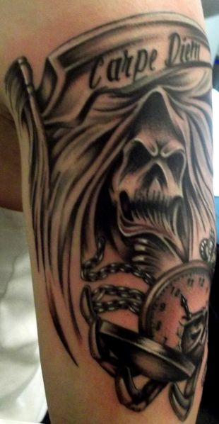 tattoo capraro reaper photo 1