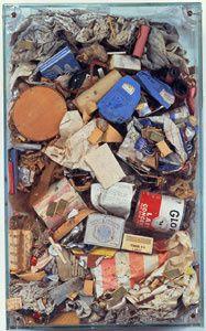 Arman poubelle ménagère