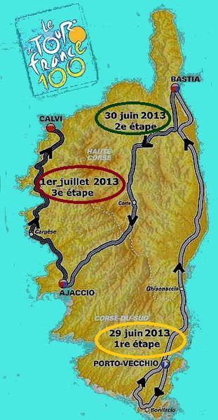 tour de France 2013 en corse