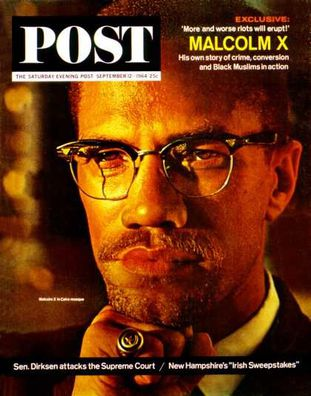 Malcolm X - Post du 12 septembre 1964
