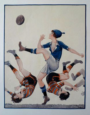 Rugby grils 1923