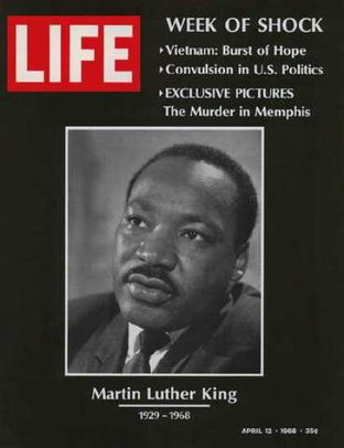 Martin Luther King - Life du 12 avril 1968