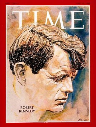 Robert Kennedy - Time du 14 juin 1968